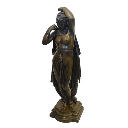ブロンズ Jean Louis Gregoire Bronze フレンチ フィギア