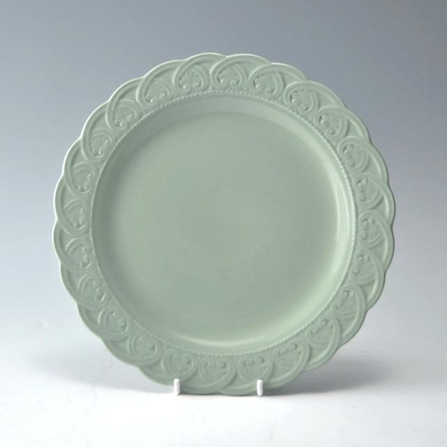 イギリスの陶器ブランドWEDGWOOD ウェッジウッド社製Queens ware(クイーンズウェア)シリーズアンティークプレート