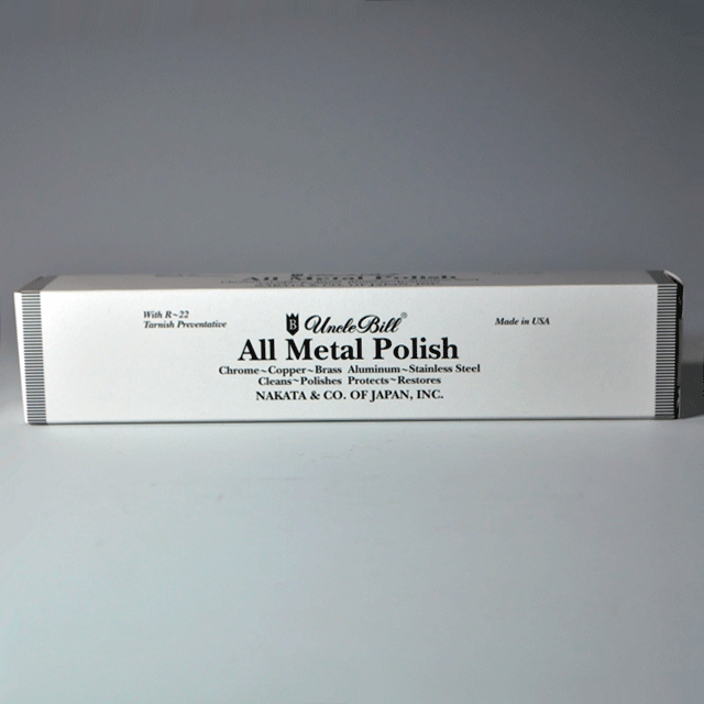 UNCLE BILL アンクルビル社、金属用万能研磨剤 All Metal Polishオールメタルポリッシュ