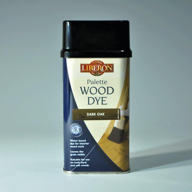 LIBERON リベロン Palette Wood Dye ウッドダイ  色:ダークオーク