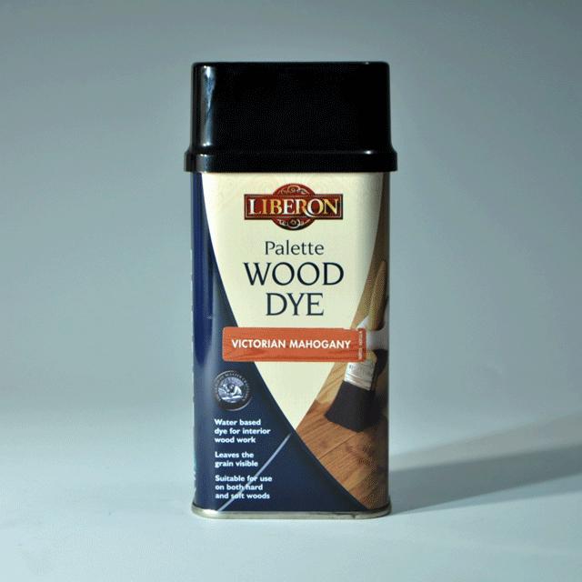 LIBERON リベロン Wood Dye ウッドダイ  色:ヴィクトリアンマホガニー