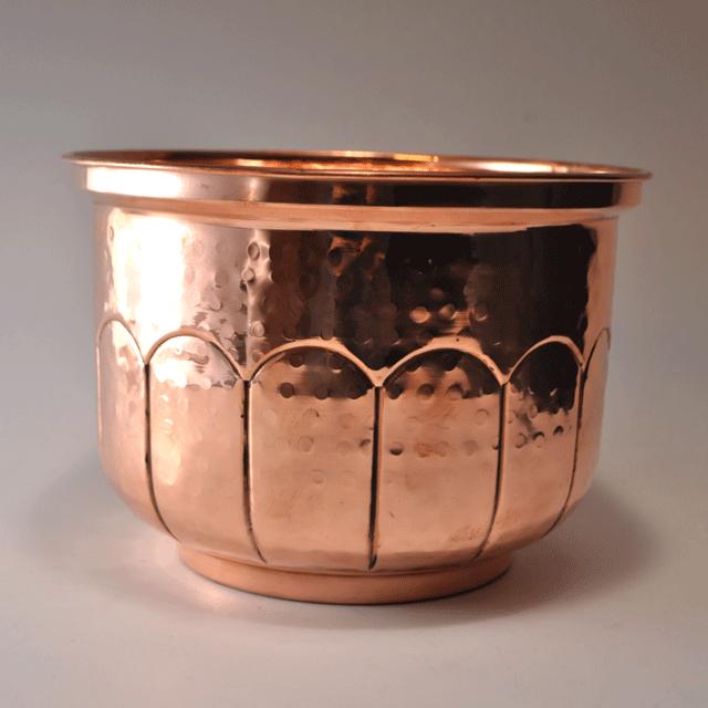 コッパー(銅)製アンティークプランターケース