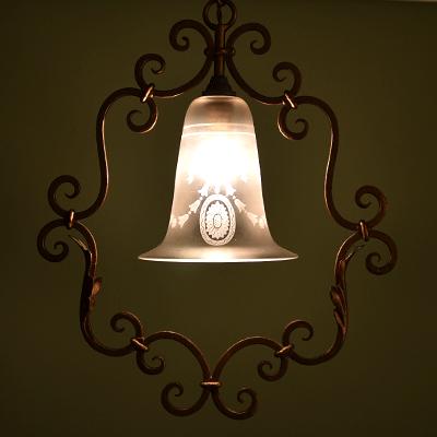 ランプシェード アンティークランプ アンティーク照明 ペンダントライト ハンギングランプ フレンチランプ