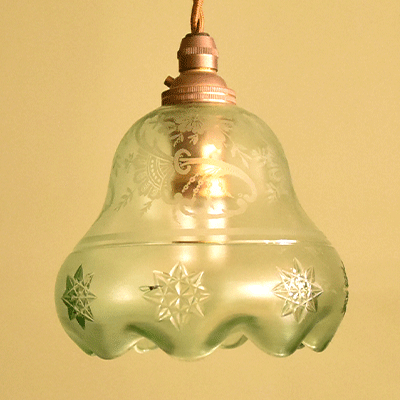 ランプシェード アンティークランプ アンティーク照明 ペンダントライト ハンギングランプ フレンチランプ イギリスアンティーク