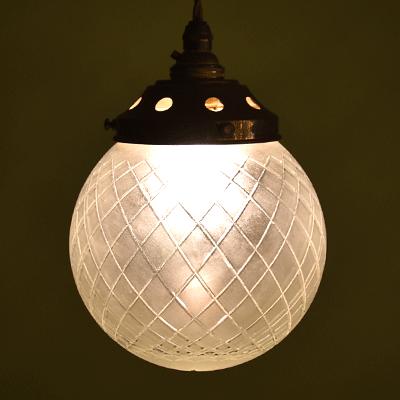 ランプシェード アンティークランプ 照明  球体ランプ
