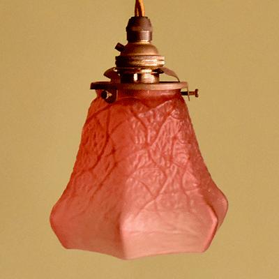 ランプシェード アンティーク照明 ペンダントライト