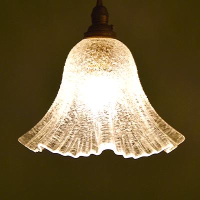 ランプ シェード アンティーク ペンダントライト
