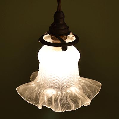 ランプシェード アンティーク照明 アンティークランプ ペンダントライト