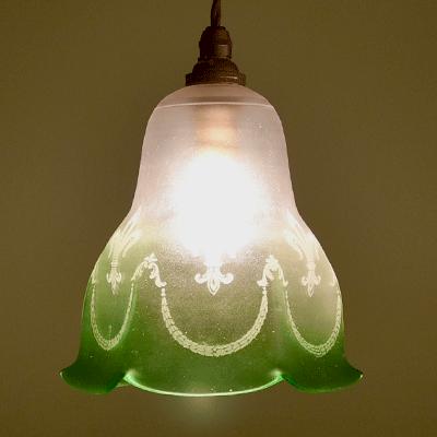 ランプシェード アンティークランプ ペンダントライト アンティーク照明