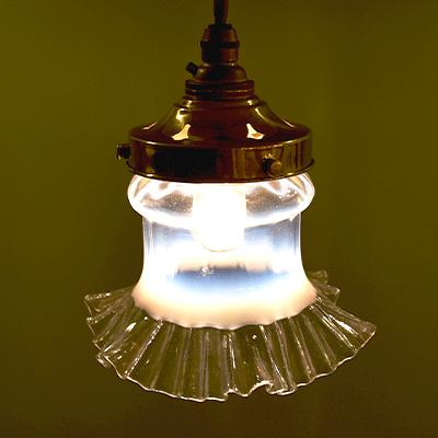 ランプ シェード アンティーク 照明 ペンダント