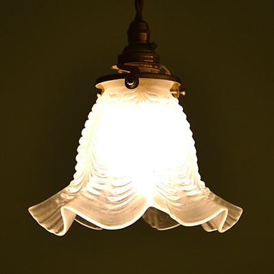 ランプシェード アンティークランプ アンティーク照明 ペンダントライト  イギリスアンティーク