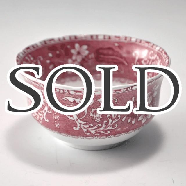 イギリスの陶器ブランドSPODEスポード社製 Pink Camilla(ピンクカミラ) シリーズのボール